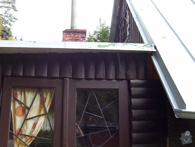 Rekonstrukce kuchyně na chatě: predek