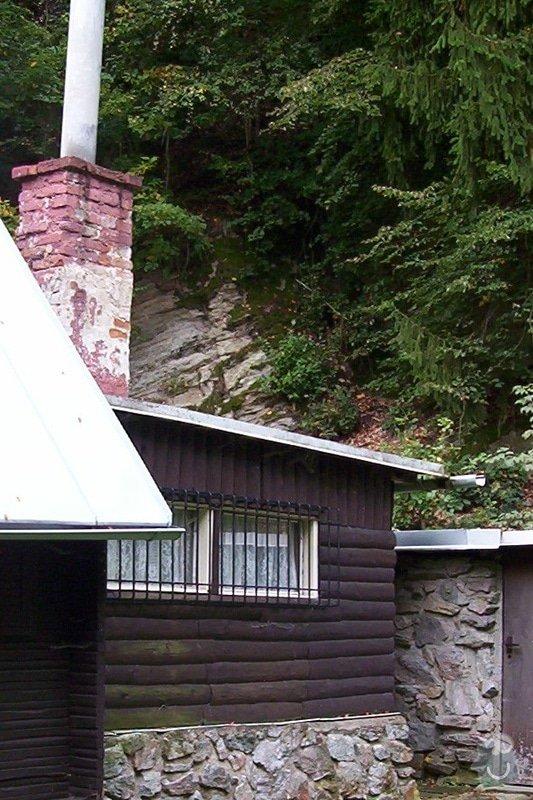 Rekonstrukce kuchyně na chatě: zadek