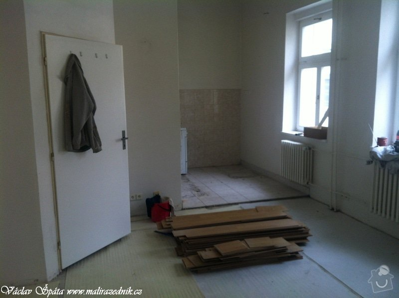 Rekonstrukce bytu: 5