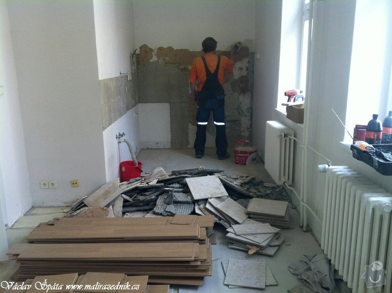 Rekonstrukce bytu: 9