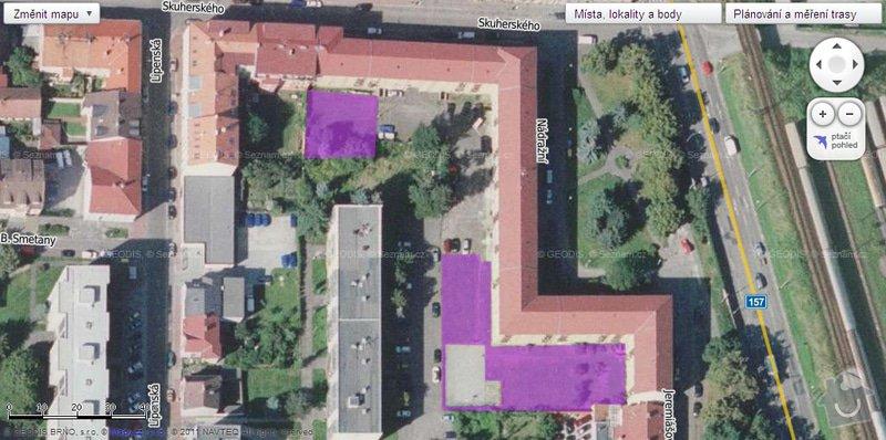 Sekání trávy na pozemku cca 1300 m2: zatravnena_plocha