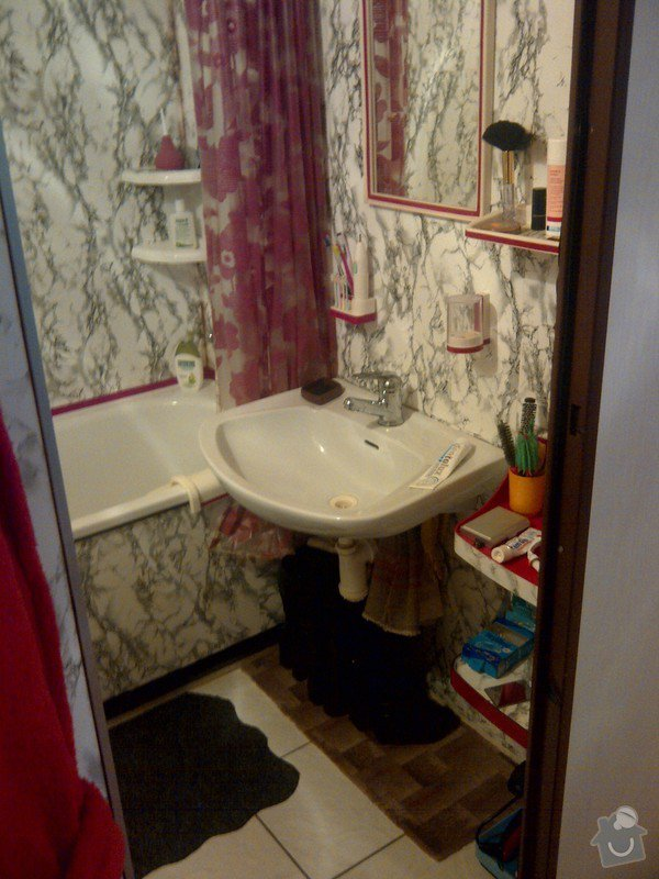 Rekonstrukce 2 koupelen: IMG-20120405-00527