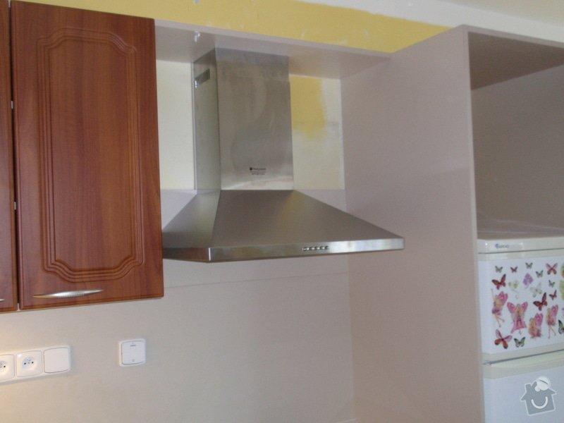 Výroba a montáž kuchyňské linky (41108): P5232316