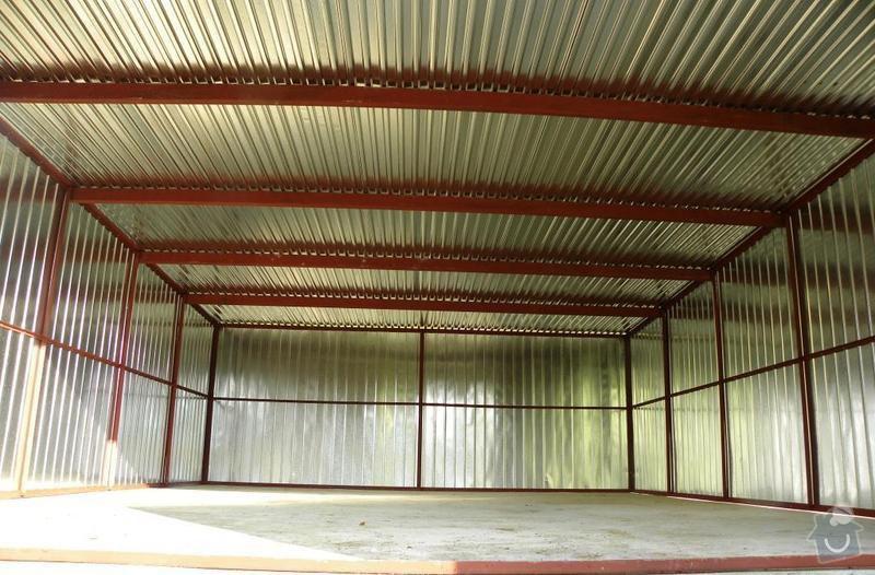 Plechová montovaná garáž: DSCN2851