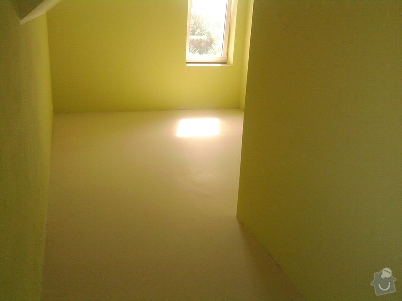 Vyrovnání podlahy, pokládka vinylových dílců: 10