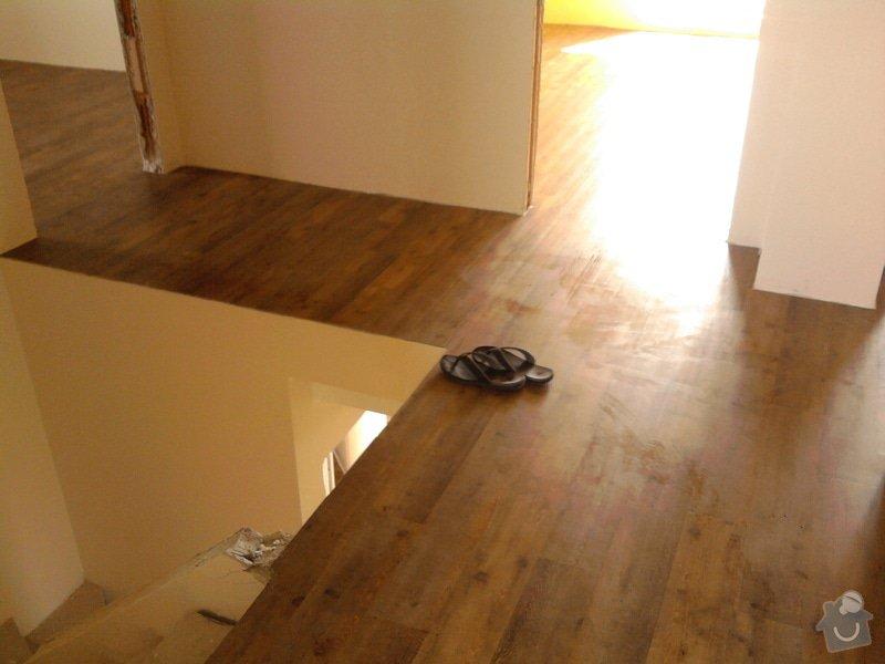 Vyrovnání podlahy, pokládka vinylových dílců: 22