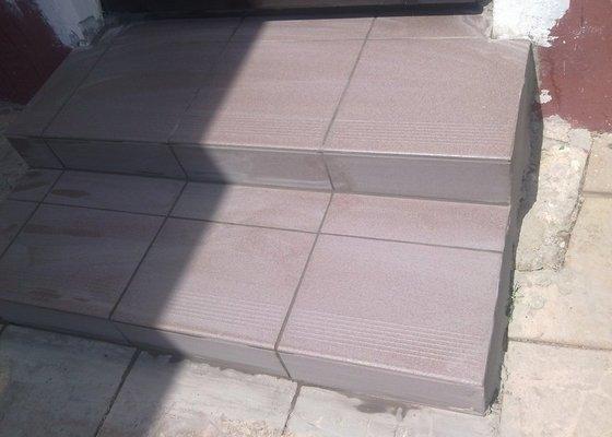 Zdění, opravy zdí, obklady schodů a betonování