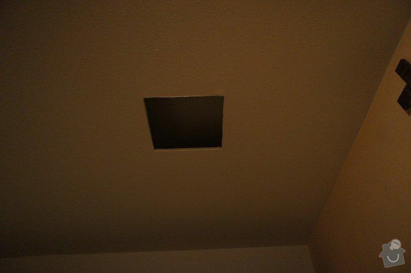 Oprava sádrokartonového stropu: DSC04322