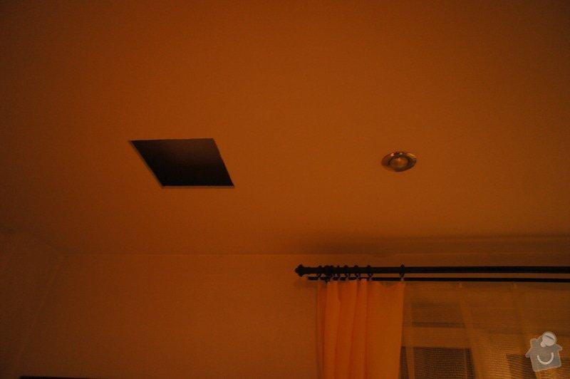 Oprava sádrokartonového stropu: DSC04324