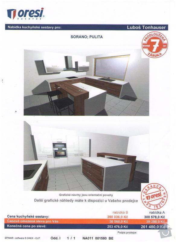 Nová kuchyň na míru: 5
