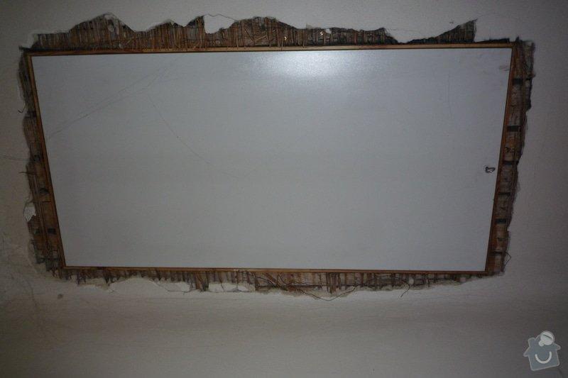 Natažení fajnové omítky: strop