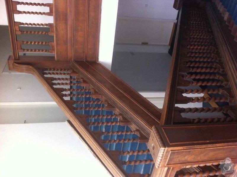 Renovace dřevěného schodiště: schodiste2
