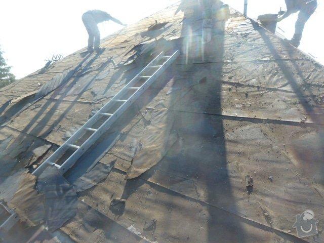 Rekonstrukce střechy- výměna krytiny: P1070059