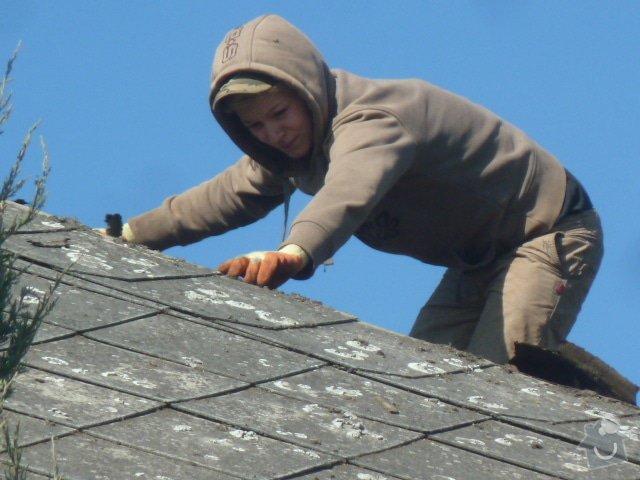 Rekonstrukce střechy- výměna krytiny: P1070062