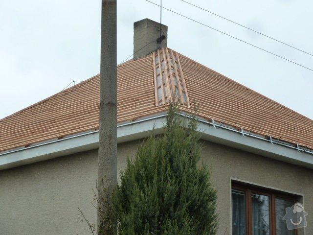 Rekonstrukce střechy- výměna krytiny: P1070173