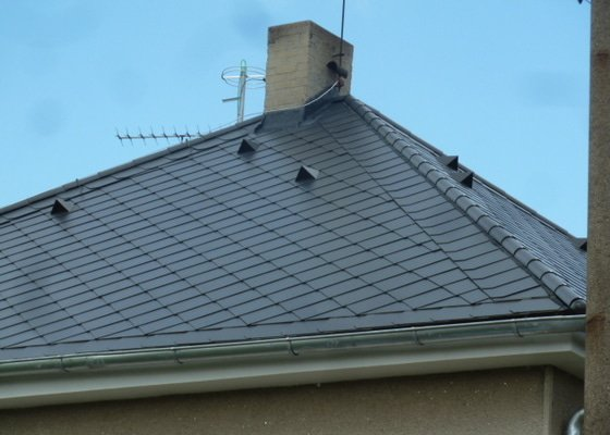 Rekonstrukce střechy- výměna krytiny
