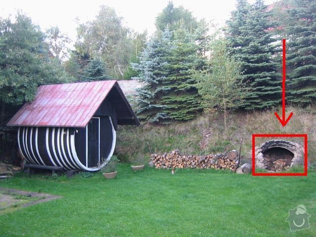 Zednické práce - oprava komína: zahrada_ohniste_-_upravena