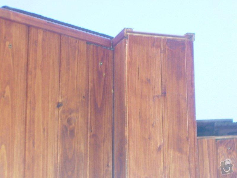 Oprava palubkového podbití střechy RD: DSCF6701