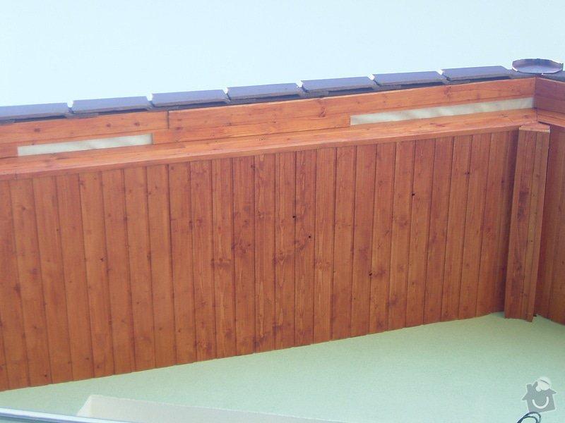 Oprava palubkového podbití střechy RD: DSCF6704