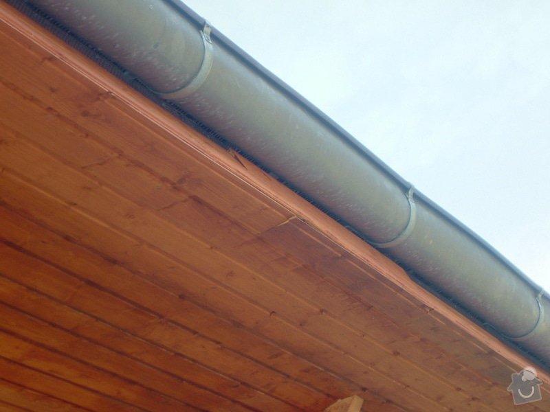 Oprava palubkového podbití střechy RD: DSCF6713