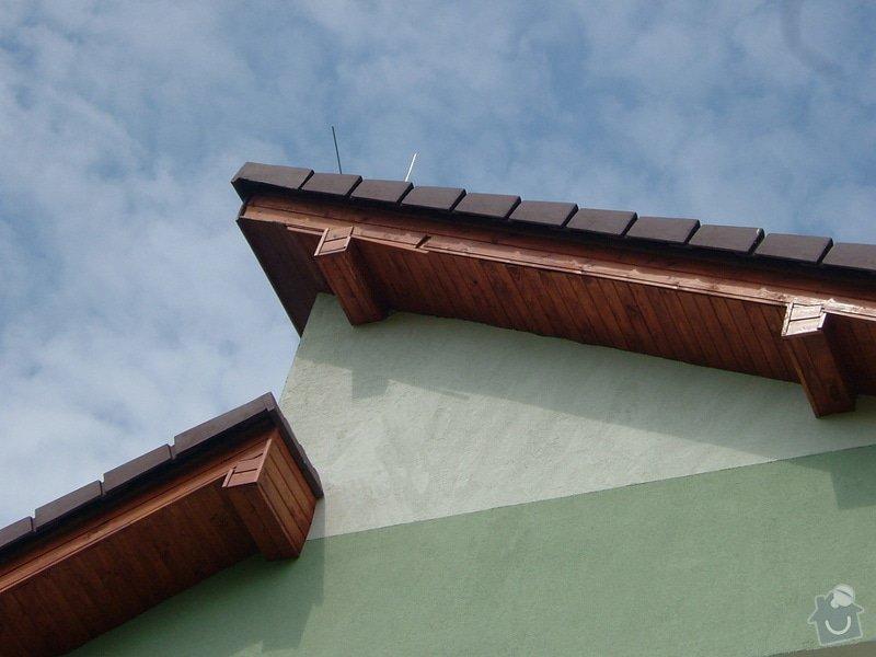 Oprava palubkového podbití střechy RD: DSCF6716