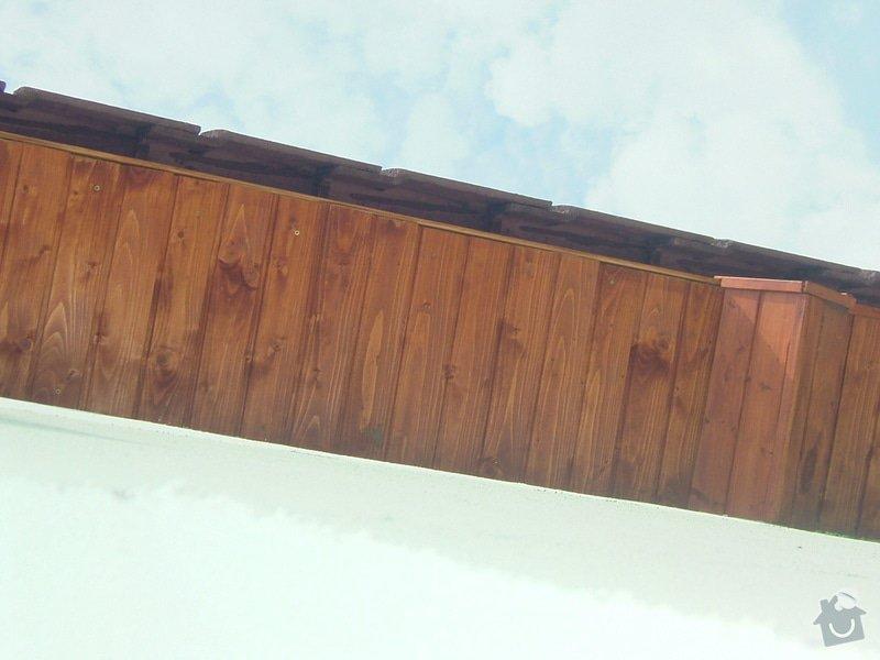 Oprava palubkového podbití střechy RD: DSCF6719