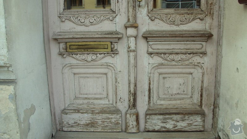 Renovace  dveří: DSC02488