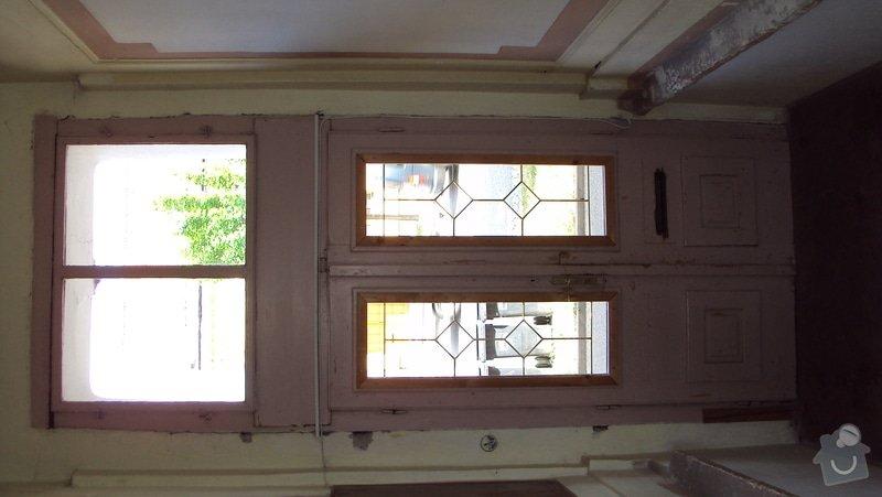 Renovace  dveří: DSC02485