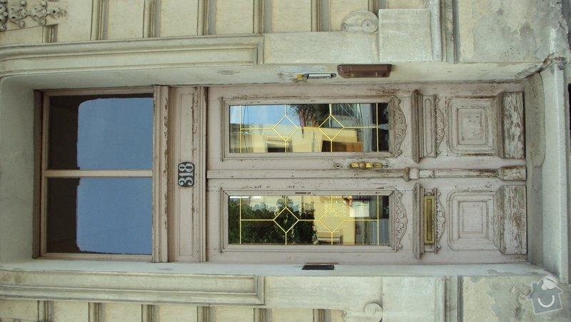 Renovace  dveří: DSC02487