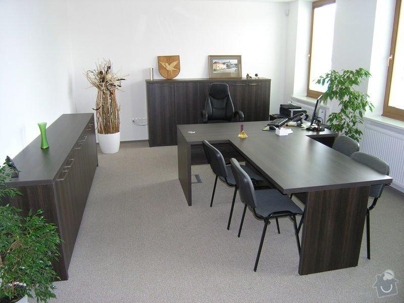 Výroba a montáž kancelářského nábytku: P1011718