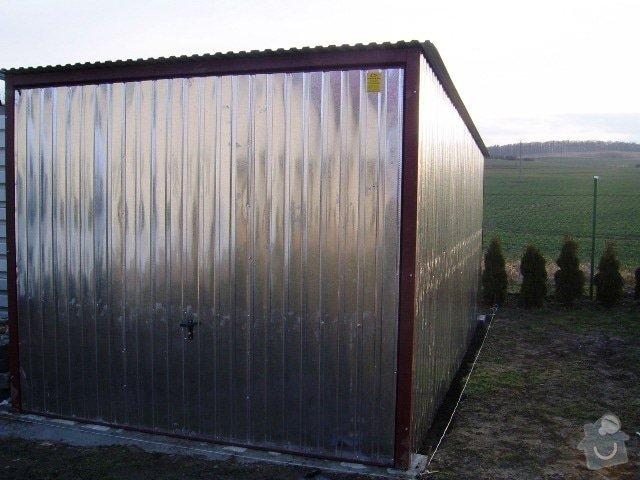 Plechová montovaná garáž: SSA42304