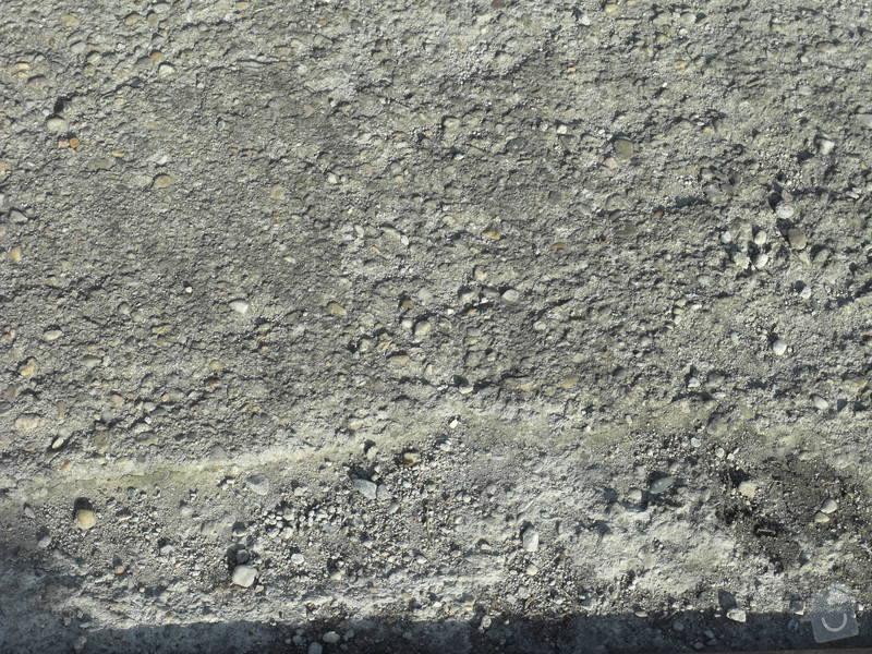 Oprava venkovních betonových ploch: PLOCHA1-1