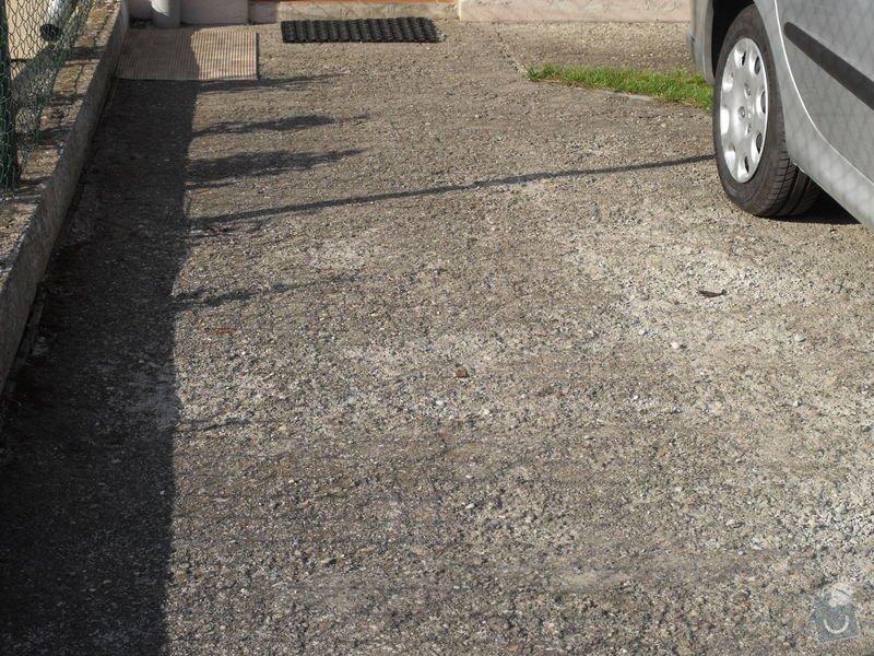 Oprava venkovních betonových ploch: PLOCHA1-2