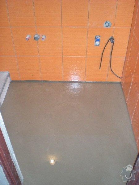 Kompletní přestavba koupelny ve starším rod.domě dle požadavku.: 158-02
