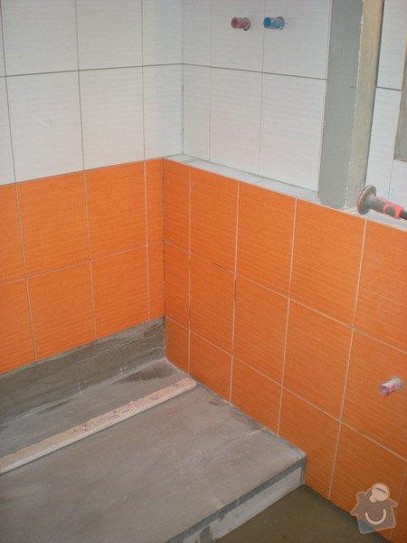 Kompletní přestavba koupelny ve starším rod.domě dle požadavku.: 158-03