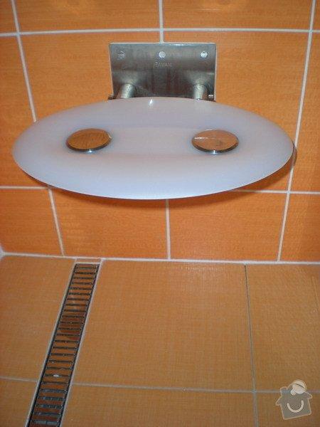 Kompletní přestavba koupelny ve starším rod.domě dle požadavku.: 158-05