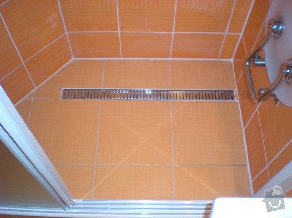 Kompletní přestavba koupelny ve starším rod.domě dle požadavku.: 158-06