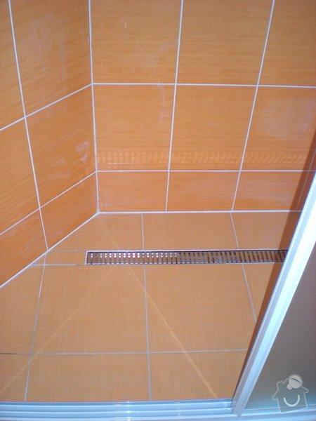 Kompletní přestavba koupelny ve starším rod.domě dle požadavku.: 158-07
