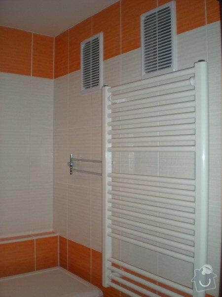 Kompletní přestavba koupelny ve starším rod.domě dle požadavku.: 158-12