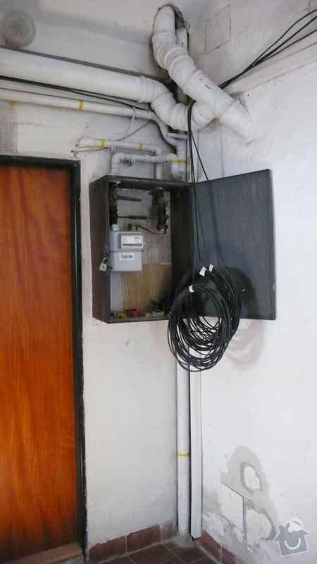 Rekonstrukce domovního rozvodu plynu - výměna plynových stoupaček, v bytovém domě Čajkovského, Praha 3: 04_stoupacka_prizemi