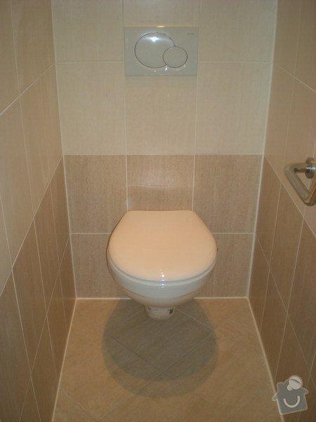 Kompletní rekonstrukce koupelny a toalety : 159-09