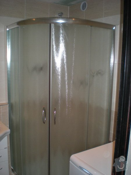 Kompletní rekonstrukce koupelny a toalety : 159-06