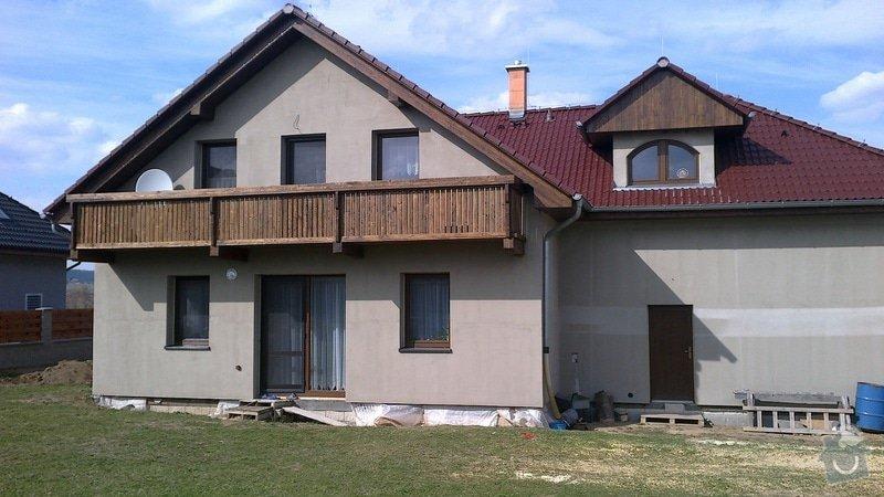 Balkon a podbití: 013