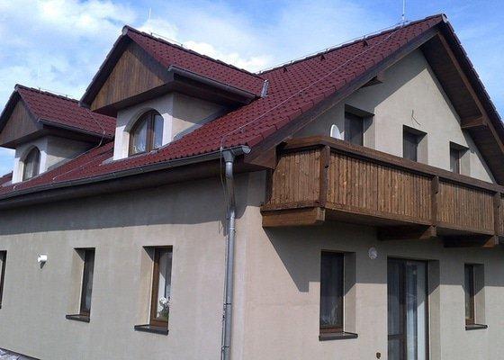 Balkon a podbití