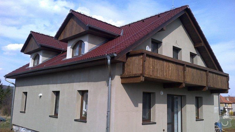 Balkon a podbití: 016