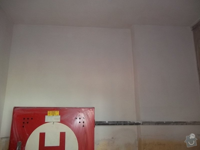 Oprava požárem poničených prostor: 100_1520