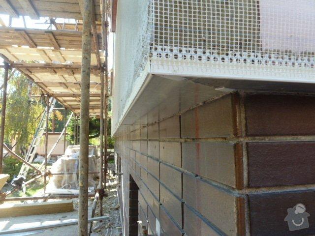 Zateplení fasády RD- Rockwool: P1050608