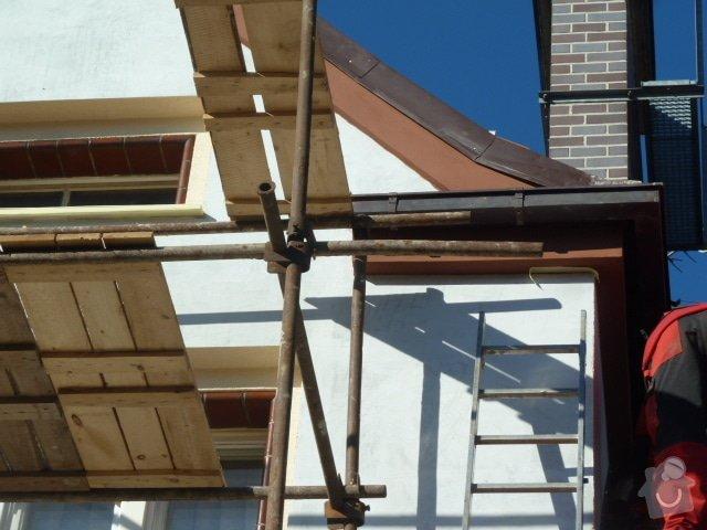 Zateplení fasády RD- Rockwool: P1050692