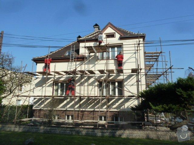 Zateplení fasády RD- Rockwool: P1050709