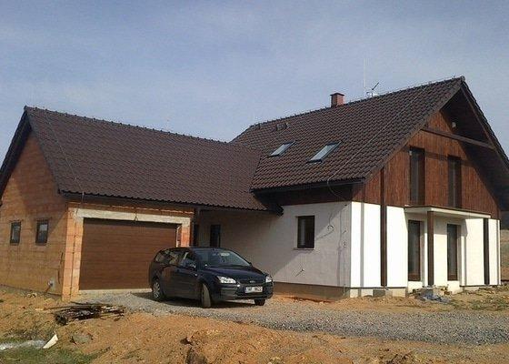 Zhotovení střechy a krovu